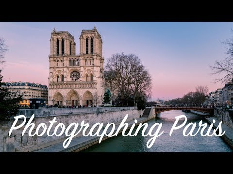 Photographing Paris: Notre Dame and Louvre