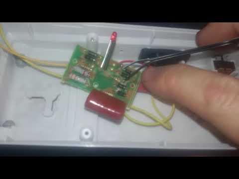 Bell and Howell light bar DC mod part 1
