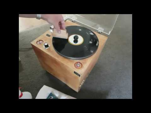 DIY Record Cleaning Machine