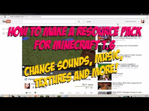 Tutorial: How to make a resource pack for Minecraft 1.6