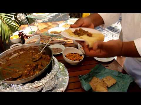 Préparez le dholl puri crêpe mauricienne