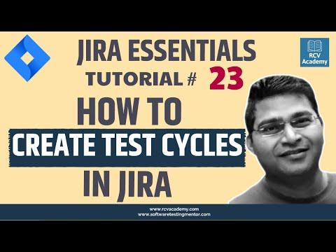 Creating Test Cycles in Atlassian JIRA
