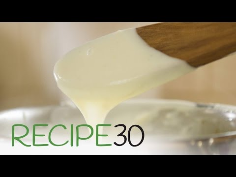 PARMESAN CHEESE SAUCE - By RECIPE30.com