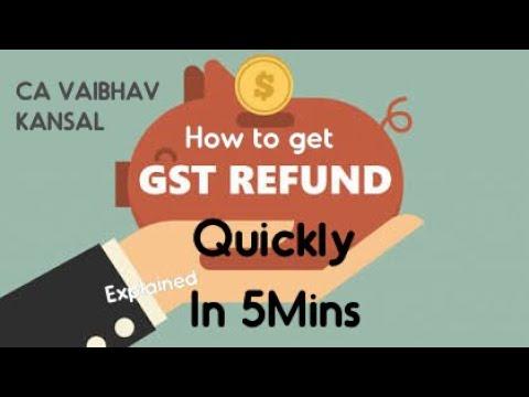 How to get GST Refunds | GST refund documents