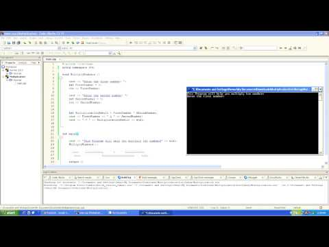 How to create multiplication program in c++ using void cin cout int
