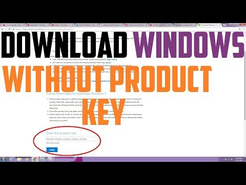 Download Windows From Microsoft Without Product Key