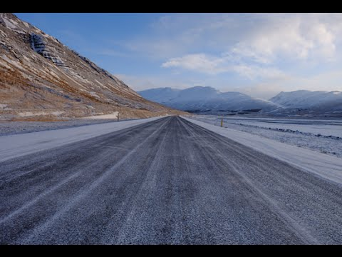[1080p] Trip In North Of Iceland In Winter, Akureyri, January 2016