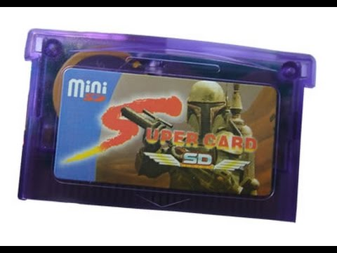 SuperCard SD Mini Flashcart For GBA Review - Serious Thoughts + Instructions