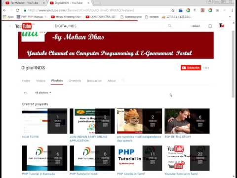youtube tutorial hindi : how to set up youtube homepage