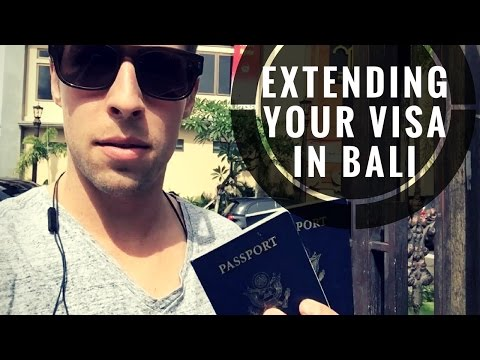 How to Extend Your Visa in Bali