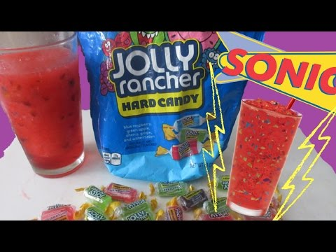 How To Make The Sonic Cherry Jolly Rancher Slush (Easy DIY)