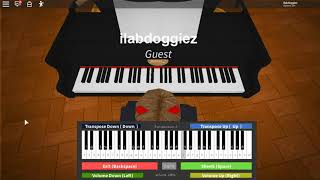 How To Play Left Behind On Roblox Piano Easy