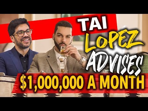 Met with Tai Lopez, just to find out I SHOULDN'T earn more money
