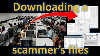 Accessing a scammer's PC - Jim Browning - imclips net