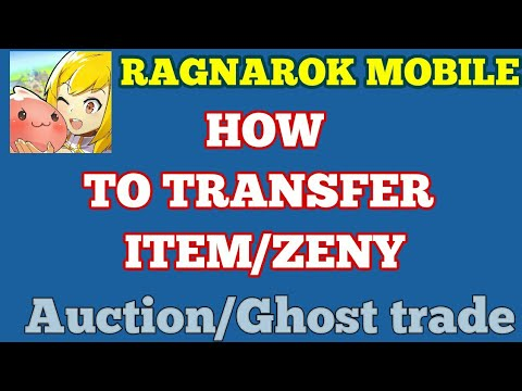 Trading items in Ragnarok Mobile (Auction trade/Ghosttrade)