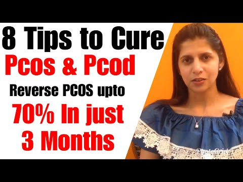 How to Naturally Cure PCOS & PCOD | 8 Best Tips to Treat and control PCOS Naturally| In Hindi