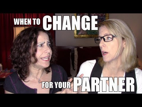 Lesbian Couple Relationship Goals : Should You Change for Your Partner? : Lacie and Robin