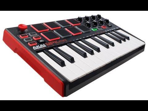 Review:  Akai Professional MPK Mini MKII  25-Key Ultra-Portable USB MIDI