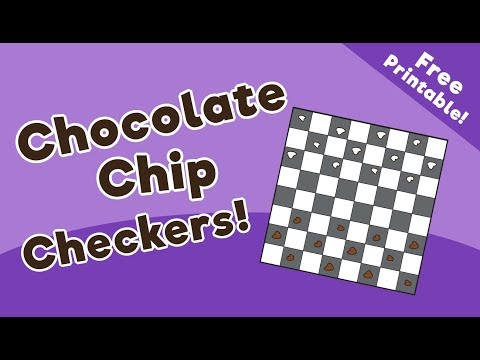 Chocolate Chip Checkers Game