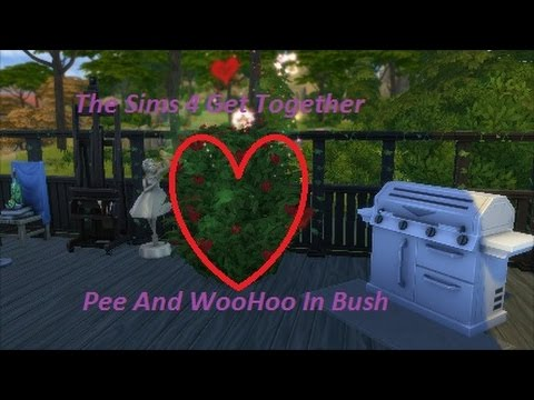 The Sims 4 Get Together Pee And WooHoo In Bush