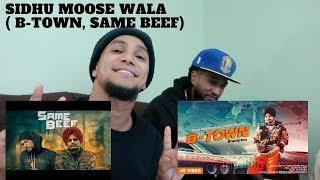 Americans react to Sidhu Moose Wala ( Same Beef, B-Town )