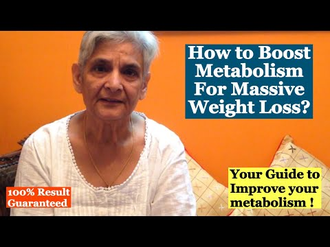 How to Boost Metabolism to Lose Weight ? | Metabolism Boosting tips and Diet for Weight Loss