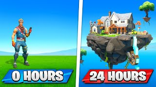 I Gave PRO Builders 24 HOURS To Build In Creative!