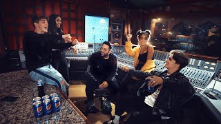 "Now United x Pepsi - Recording 'How We Do It ft. Badshah"" in LA"
