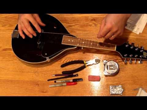 Stringing a Mandolin