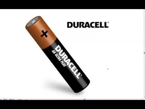 Adobe Illustrator 3D Duracell Battery (not a tutorial!!!)