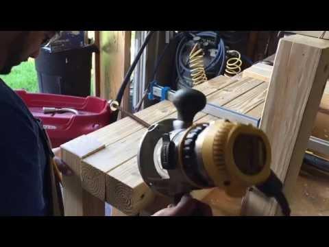 Wood bench 4x4's. Inspire by. DIRESTA