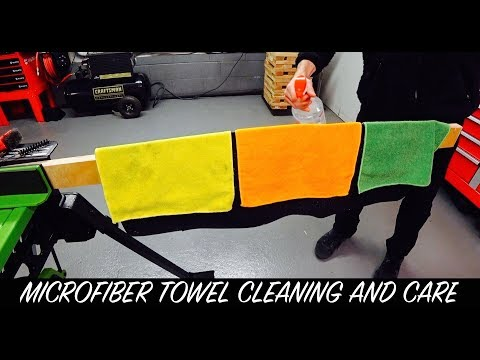 Microfiber Towel Cleaning and Care | Auto Fanatic