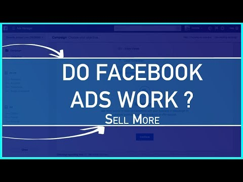 Do Facebook Ads Work? Advertising with Social Media Sites to Get More Customers
