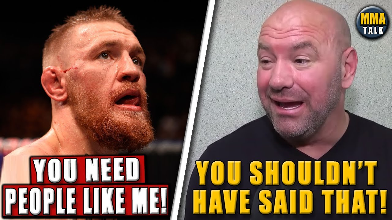 Conor McGregor BREAKS SILENCE following UFC 264 loss,Dana White on McGregor insulting Poirier's wife