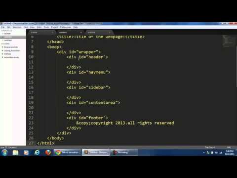 How to create a Snippet in Sublime Text Editor