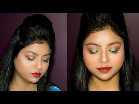 How To Do Easy Party Step By Step Makeup Tutorial | DIY Party Makeup For Beginners | Indian Makeup