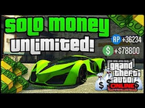 GTA 5 Online: *SOLO* Unlimited Money Method - *NEW*