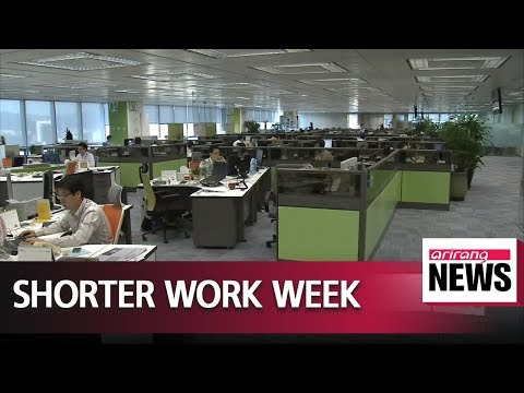 President Moon says shorter work hours will be phased in