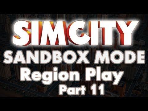 SimCity 5 Sandbox Mode Region Part 11 Circle City