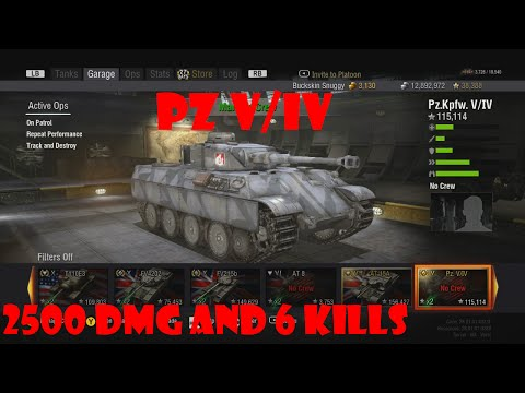 World Of Tanks Xbox 360 PZ V/IV