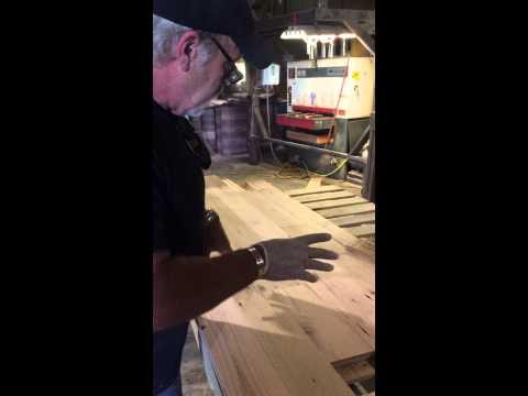 Unfinished Barnwood Flooring