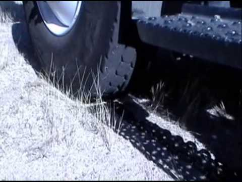 Remove a Rock from Dual Tires