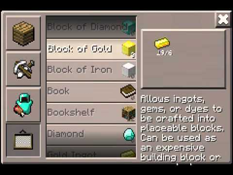 Minecraft PE infinite diamonds glitch in 0.3.2