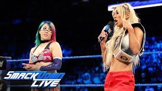 "Carmella ""unmasks"" Asuka: SmackDown LIVE, June 5, 2018"