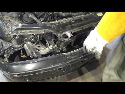 How to replace BMW E46 front bumper. Years 1998 to 2005