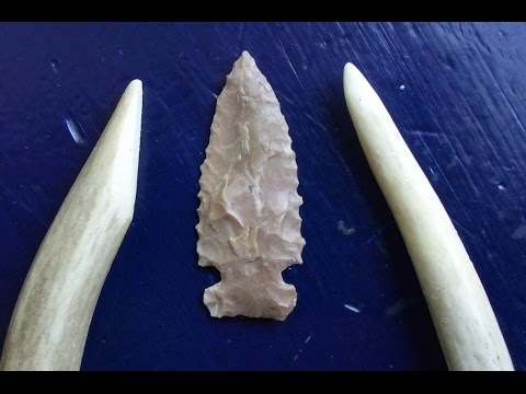Make Your Own Antler Flintknapping Tools (HD)