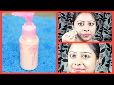 DIY Skin Whitening Tomato Facial Cleanser || How to make Cleanser at home for fair Glowing Skin