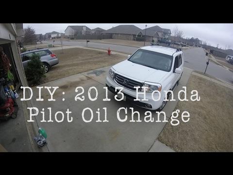DIY - 2013 Honda Pilot Oil Change