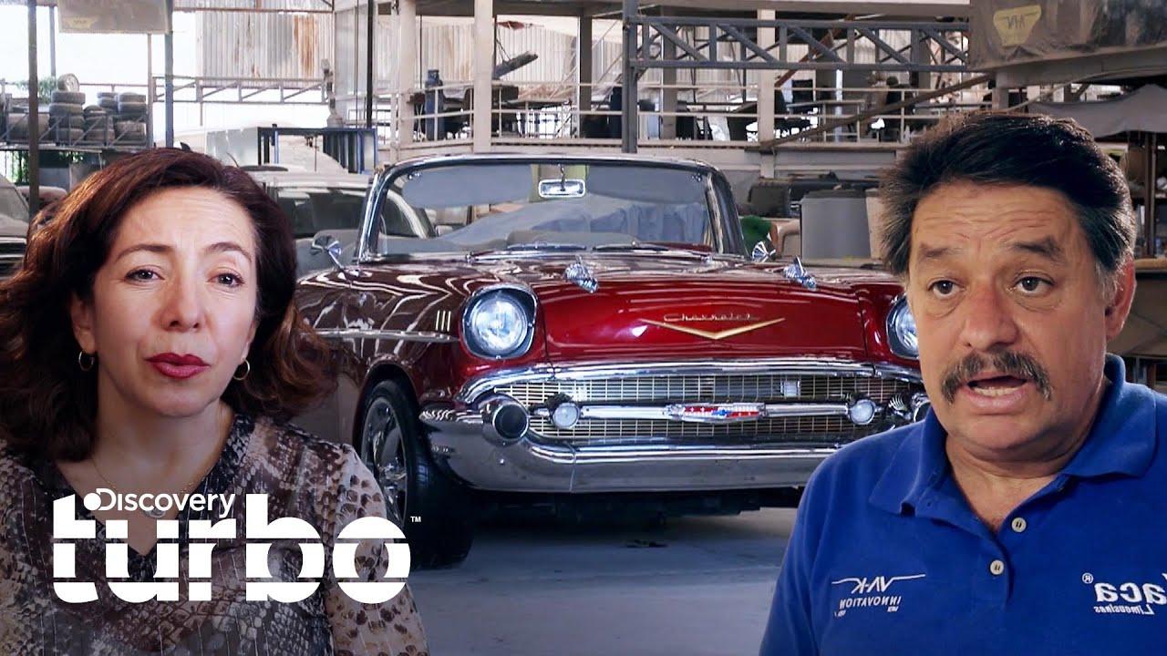 Clienta interviene en restauración de su clásico Bel Air | Lo mejor de Mexicánicos | Discovery Turbo