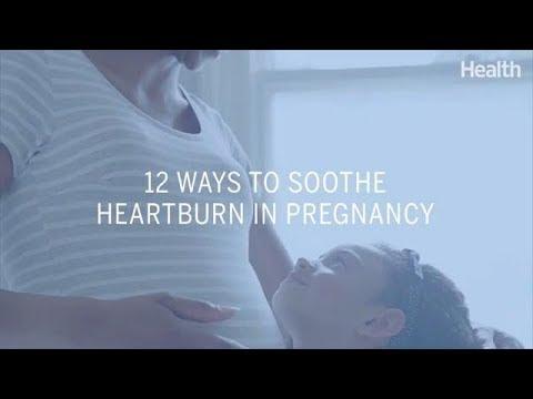 12 Ways to Soothe Heartburn in Pregnancy   Health